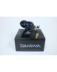 Daiwa Lexa-HD 300XSL-P 8.1:1 LEFT HAND - Used Casting Reel - Excellent Condition w/ Box