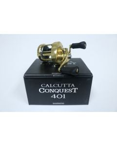 Shimano Calcutta Conquest 401 Casting Reel   CTCNQ401A   Used - Excellent Condition