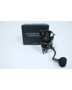 Shimano Vanford C5000XGF 6.2:1 Gear Ratio - Used Spinning Reel - Excellent Condition