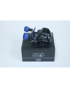 Daiwa Lexa HD 300HSL-P 7.4:1 Gear Ratio LEFT HAND - Used Casting Reel - Excellent Condition