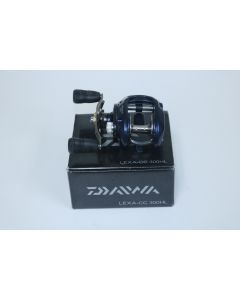 Daiwa Lexa CC 300HL 6.3:1 Gear Ratio LEFT HAND - Used Casting Reel - Very Good Condition