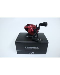 Daiwa CG80HSL 7.5:1 LEFT HAND - Used Casting Reel - Excellent w/ Box