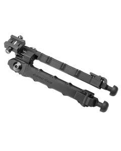"ACCU-TAC LRB-0100 BIPOD LARGE RIFLE LR 10 7""-11.5"" ALUMINUM FLAT BLACK"