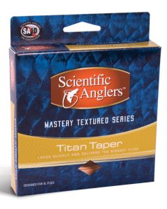 Scientific Angler Mastery Textured Titan Taper With Loop - Ivory/Lt Yellow WF- 9-F