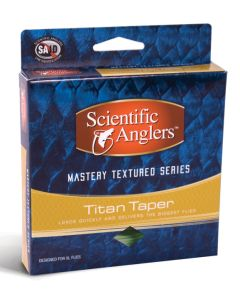 Scientific Angler Mastery Textured Titan Taper With Loop Intermediate/I - Lily Pad/Pale Green WF- 6-I