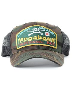 Megabass Throwback Trucker Hat