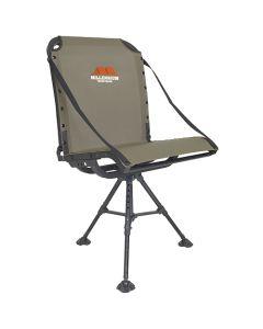 Millennium Treestand G100 Blind Chair - Lightweight Aluminum - Swivel - Collapsible