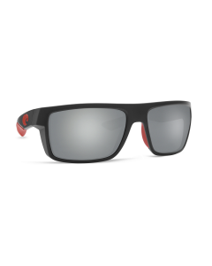 Costa Del Mar Motu Race Black Sunglasses with Gray Silver Mirror 580P Lens | MTU 197 OSGP