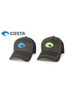 Costa Del Mar Neon Trucker Hat