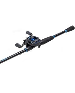 "Shimano SLX Bait Casting Combo 6.3:1 LH Reel / 6'10"" Medium Heavy Rod"