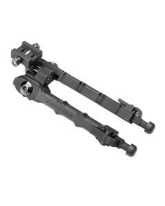 "Accu-Tac SRB-0500 Adjustable Picatinny Mount Rifle Bipod w/ Rubber Feet 6.25""-9.75"""