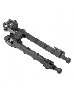 Accu-Tac SRBQD-0500 Quick Detach Adjustable Picatinny Bi-pod w/ Rubber Feet 6.25-9.75""