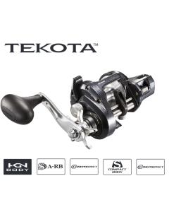 Shimano Tekota 601HGLCA 6.3:1 Left Hand Line Counter Casting Reel | TEK601HGLCA