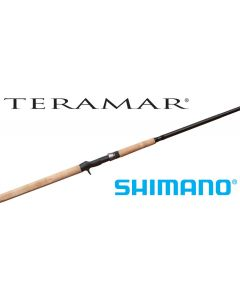 "Shimano Teramar West Coast 7'6"" Med-Heavy Casting Rod TMCX76MHB"