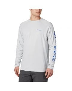 Columbia PFG Terminal Deflector Long Sleeve Shirt Front