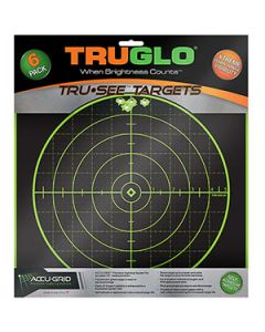 Truglo Tru-See Targets 100 Yard 12X12 12pk