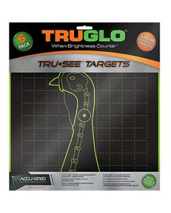 Truglo Tru-See Targets Turkey 12X12 6pk
