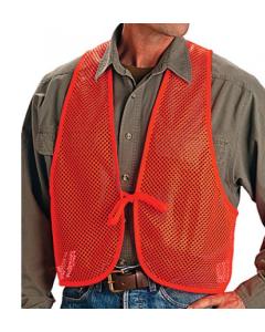 Allen Safety Vest Mesh Blazer Orange Adult