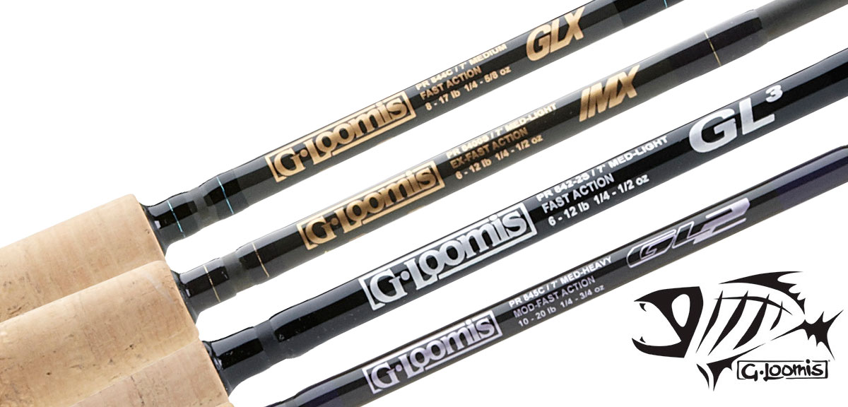 G  Loomis Classic Popping Saltwater Spinning Rods